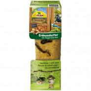 JR Farm Garden Peanut Bar Erdnussbutter mit Regenwürmer 350g