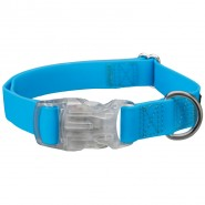 USB Easy Flash Halsband, neonblau