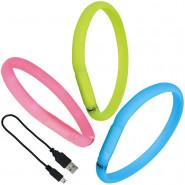 USB Flash Leuchtband, 30mm, für langhaarige Hunde