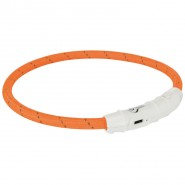 USB Flash Leuchtring, orange