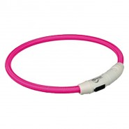USB Flash Leuchtring, pink