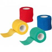 Bandagen, selbsthaftend, 5cm/4,5m, 4 Stück