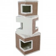 Cat Tower Lilo, 123cm, weiß