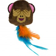 Catmoji Monkey mit MadNip, ca. 6cm