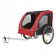 Fahrrad-Anhänger Gr. L (75x86x80/145cm) bis 27 kg