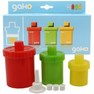 Gako Box Futtertuben-Set Mixed