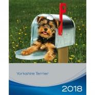 Kalender 2018 Yorkshire Terrier
