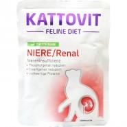 Kattovit Pouch Niere/Renal mit Truthahn 85g
