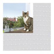 Katzen Schutznetz, transparent