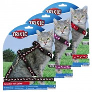 Katzengarnitur, für alle Katzen, Nylon, 27-46 cm/10 mm