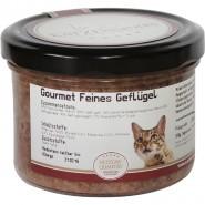 Katzengenuss Gourmet Feines Geflügel 200g im Glas