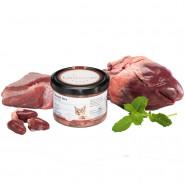 Katzengenuss Gourmet Herz mit Minze 200g im Glas