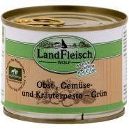 Landfleisch Dog Wolf Pesto Grün 200g