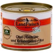 Landfleisch Dog Wolf Pesto Rot 200g