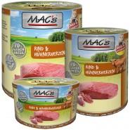 Macs Cat Dose Rind + Hühnerherzen