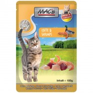 Macs Cat Pouch Ente + Shrimps 100g