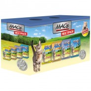 Macs Cat Pouch Multipack mit Fisch 12 x 100g