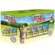 Macs Cat Pouch Multipack nur Fleisch 12 x 100g