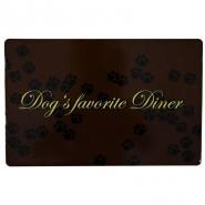 Napfunterlage Dogs favorite Diner, 44x28cm