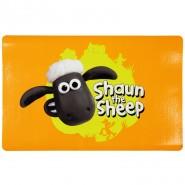 Napfunterlage Shaun das Schaf, 44 x 28cm, orange