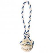 Naturgummiball am Seil, 7 cm/24 cm