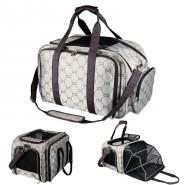 Tasche Maxima, erweiterbar, 33 x 32 x 54 cm, beige/braun