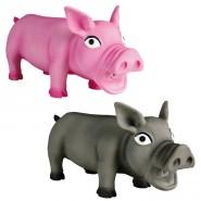 Schwein mit Original-Tierstimme, Latex