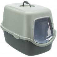 Be Eco Katzentoilette Vico, 40x40x56cm, anthrazit/grau-grün