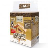 Delicia Mehlwürmer Futter-Mix Frischepack 350g