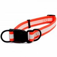 Heim BioThane Halsband Reflex, 25/30-50cm, orange