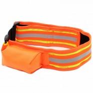 Heim Signalhalsband mit Tasche, orange