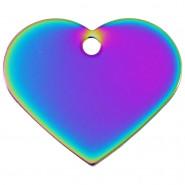 Herz Groß Regenbogen
