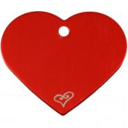 Herz Groß Rot mit Motiv Herz