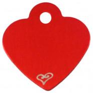 Herz Klein Rot mit Motiv Herz