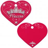 Herzchen Groß Pink Princess