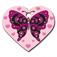 Herzchen Groß Schmetterling