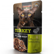 Leonardo Pouch Turkey + extra pulled Beef 70g