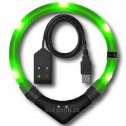 Leuchtie Premium Easy Charge, Größe 35 -57,5 cm, neongrün