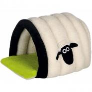 Shaun the Sheep Kuschelhöhle, 45x35x50cm, creme/grün