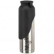 Thermoflasche mit Trinknapf, Edelstahl/Kunststoff, 500ml