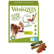 Whimzees Dog Variety Value Box S mit 56 Snacks (840g)
