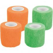Bitterstoff-Bandagen, selbsthaftend, 5cm/4,5m, 4 Stück