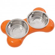 Hing The Bone Bowl Dog, orange
