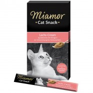 Miamor Cat-Snack Lachs-Cream 6x15g