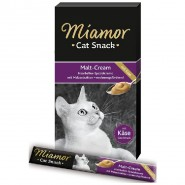 Miamor Cat-Snack Malt-Cream mit Käse 6x15g