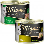 Miamor Feine Filets Naturelle Dose 156g