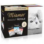 Miamor Ragout Royale Jelly Pute/Lachs/Kalb 12x100g
