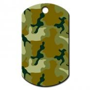 Military Groß Camouflage grün Vertikal