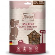 MjAMjAM Dog Snackbag Muskelfleisch Känguru 100g