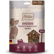 MjAMjAM Dog Snackbag Muskelfleisch Wild 100g